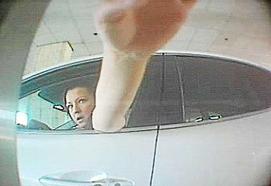 Surveillance photo of the suspect. Photo: Police Photos