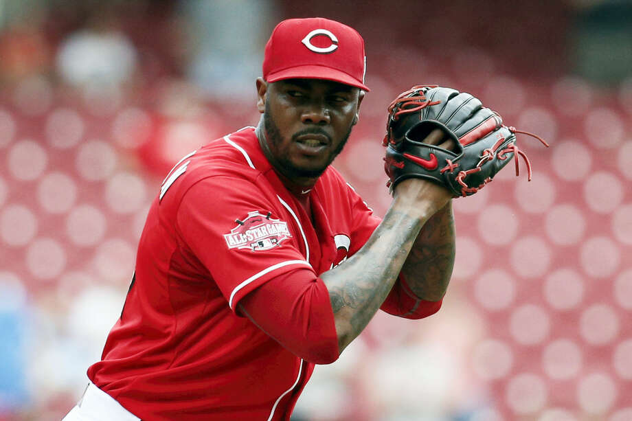 Yankees pitcher Aroldis Chapman will not face any charges in a domestic disturbance case involving his girlfriend. Photo: The Associated Press File Photo  / AP