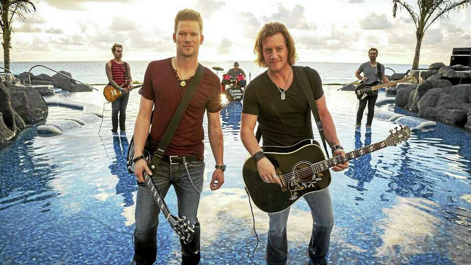 Contributed photo - Florida Georgia LineCountry rockers Florida Georgia Line are set to perform at the Xfinity Theatre in Hartford on Thursday night July 7. Also included on the concert bill are musicians Cole Swindle, The Cadillac Three and Kane Brown. For more information on this upcoming concert, call the box office at 860-548-7370. Photo: Journal Register Co.