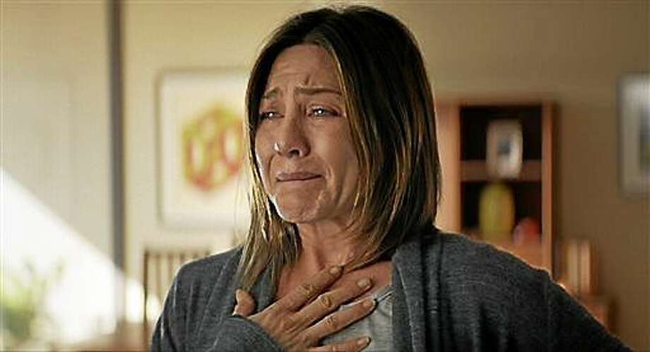 """This image released by Cinelou Films shows Jennifer Aniston in a scene from """"Cake.""""  (AP Photo/Cinelou Films ) Photo: AP / Cinelou Films"""