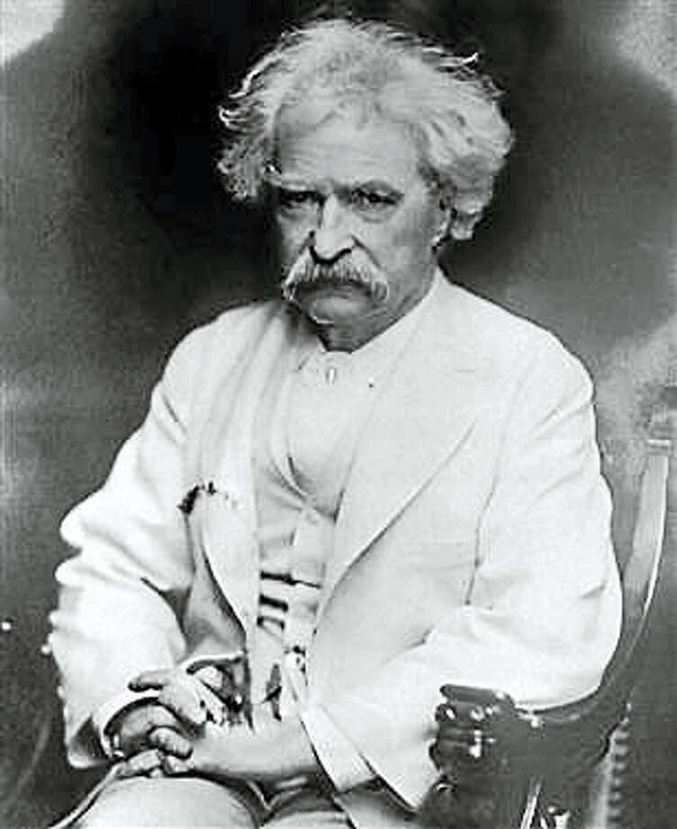 Mark Twain Photo: AP File Photo