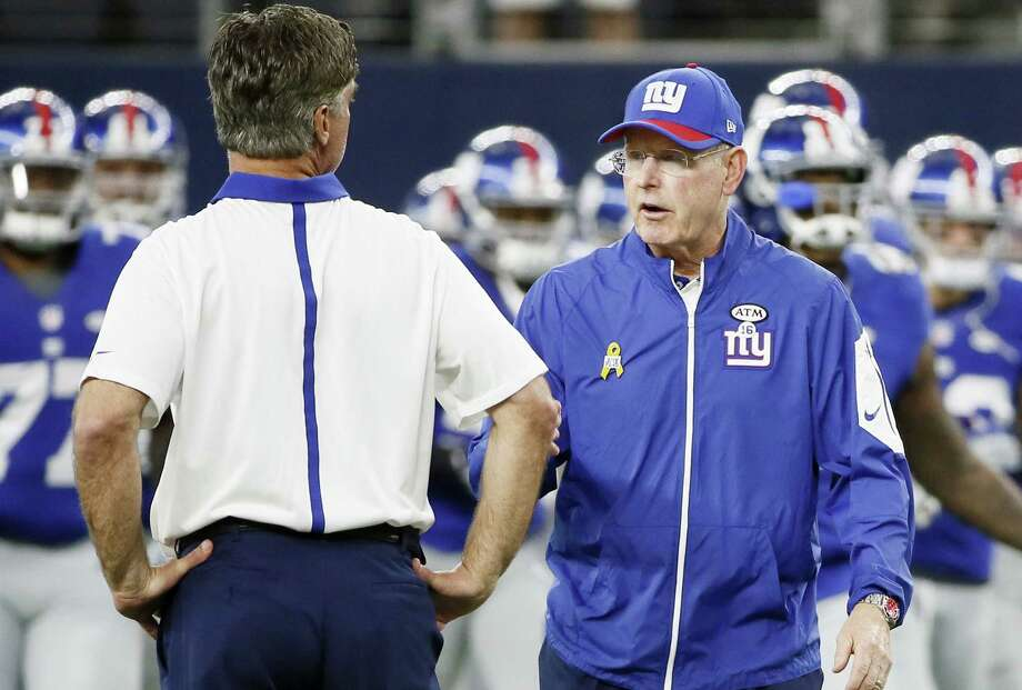 New York Giants head coach Tom Coughlin. Photo: The Associated Press File Photo  / AP