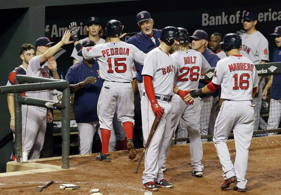 The Red Sox and Blue Jays will play a pair of exhibition games in Montreal next April. Photo: The Associated Press File Photo  / AP