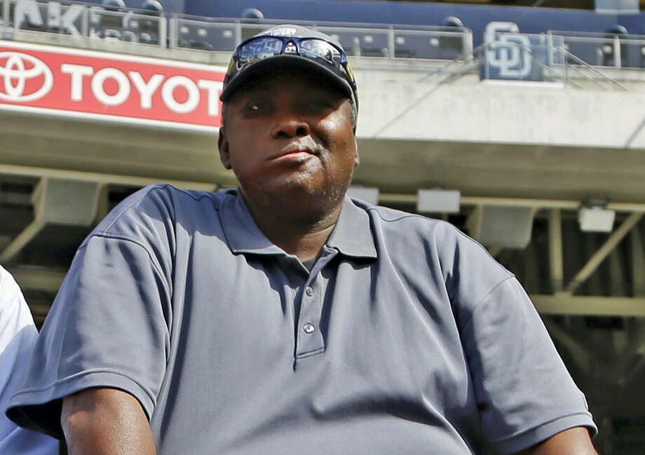 Tony Gwynn's widow and two children filed a lawsuit Monday seeking to hold the tobacco industry accountable for the Hall of Famer's death. Photo: The Associated Press File Photo  / AP