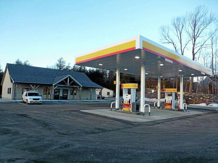 Village Market & Gas is located off Route 4 in Goshen. Photo: Ryan Flynn — Register Citizen