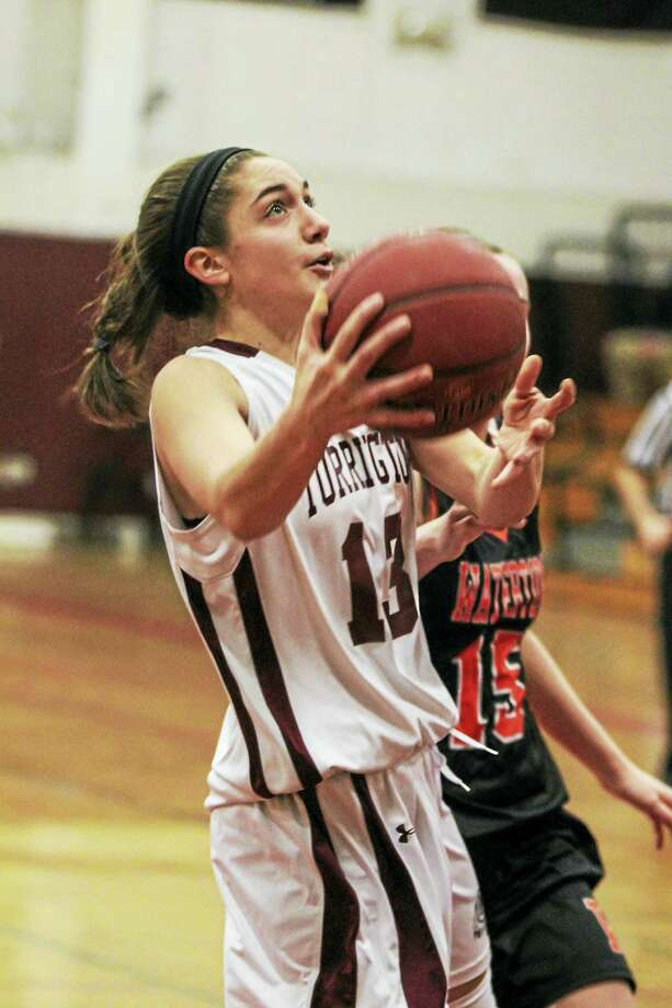 The good news for Torrington on a cold shooting night against Watertown was the return of All-State guard/forward Brie Pergola after 1½ weeks out with a muscle strain. Photo: Photo By Marianne Killackey  / 2015