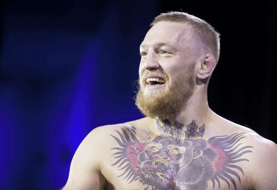 """UFC featherweight champion Conor McGregor said he remains """"committed to the fight game"""" and met with UFC officials recently in California to smooth out the relationship. Photo: The Associated Press File Photo  / Las Vegas Sun"""