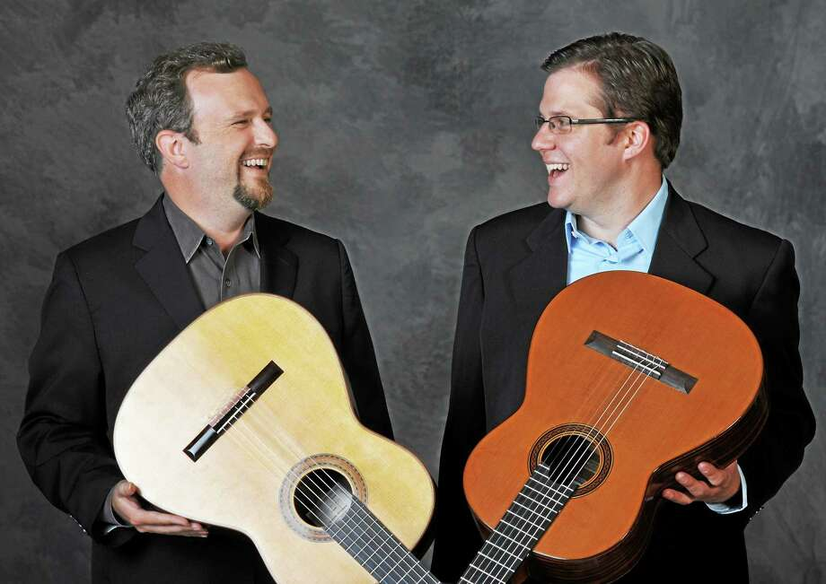 Contributed photo The Candlewood Farm Arts Foundation, in conjunction with The Taft School, is sponsoring a concert of classical guitar music with guitarists Robert Sharpe and Andrew Zohn, Saturday, Jan. 24 at 3 p.m. The event will be held inside Walker Hall on the Taft School campus, and is free to the public. Photo: Journal Register Co.