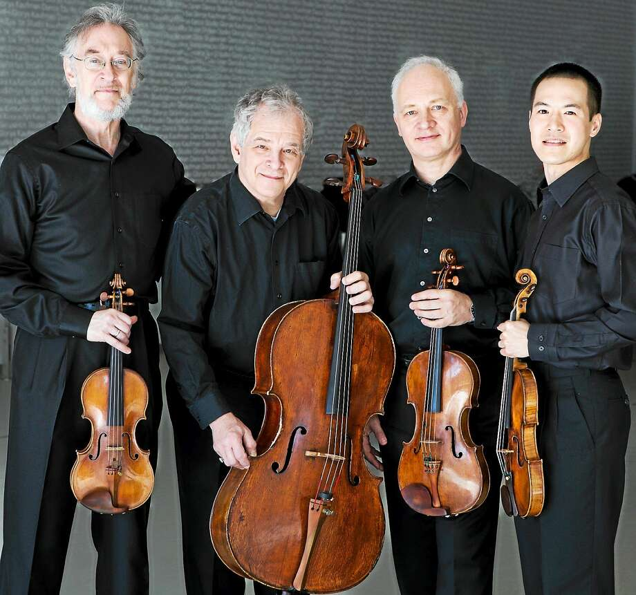 Contributed phot The Julliard String Quartet is among the lineup of top-quality musical entertainment scheduled to perform at Music Mountain this summer. Photo: Journal Register Co.