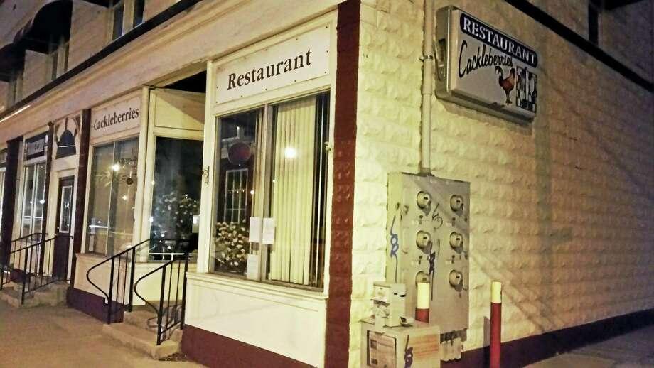 Cackleberries' Restaurant, 242 Main St. in Winsted, will close Jan. 24. Photo: BEN LAMBERT — The Register Citizen