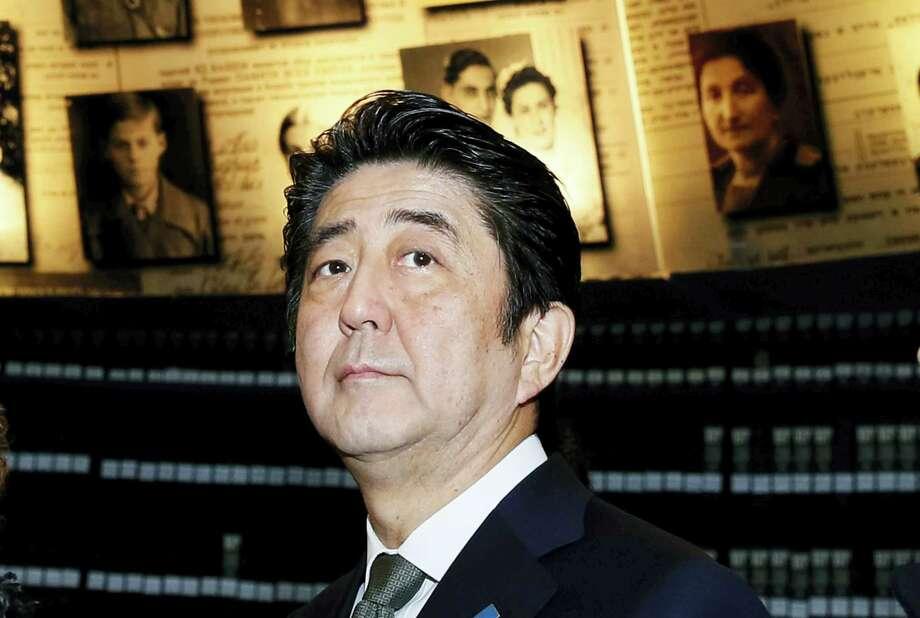 Japanese Prime Minister Shinzo Abe Photo: FILE Photo  / AFP Pool