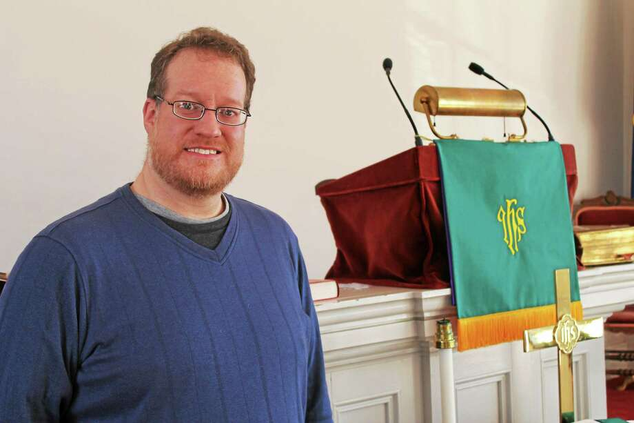 The Rev. Geoffrey Smith took over as interim pastor of Colebrook Congregational Church in November Photo: John Nestor — Special To The Register Citizen