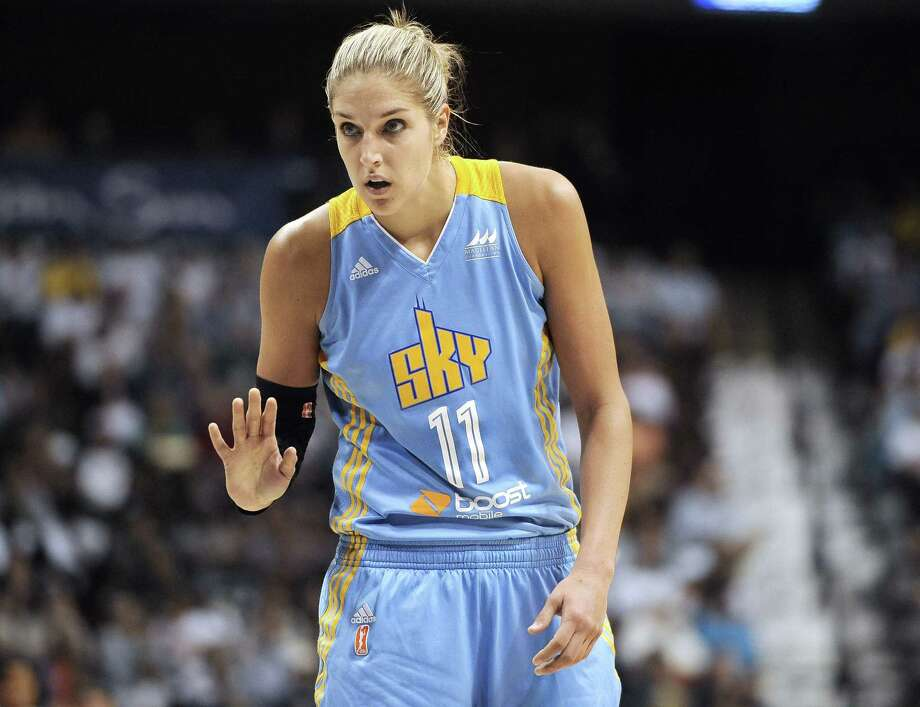 The Chicago Sky's Elena Delle Donne has been named the WNBA MVP. Photo: Jessica Hill — The Associated Press  / FR125654 AP
