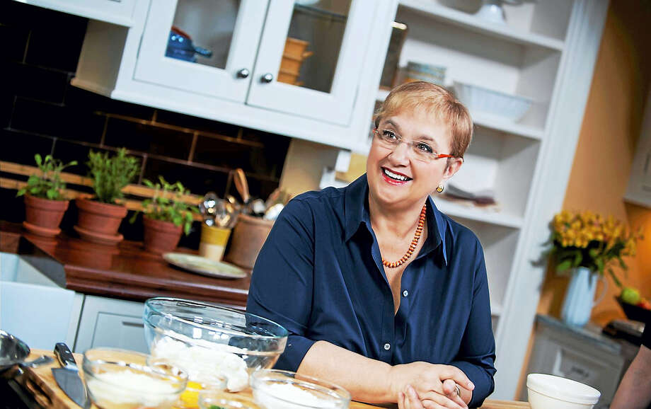 Photo by Diana DeLucia Lidia Bastianich, the Italian cook who found fame on PBS, will share her knowledge and culture with her audience at the Palace Theater Jan. 27. Photo: Journal Register Co. / DIANA DELUCIA PHOTOGRAPHY