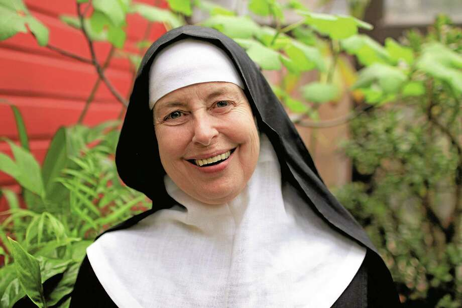 Reverend Mother Lucia Kuppens is the third abbess at Abbey of Regina Laudis. Photo: John Fitts — The Register Citizen