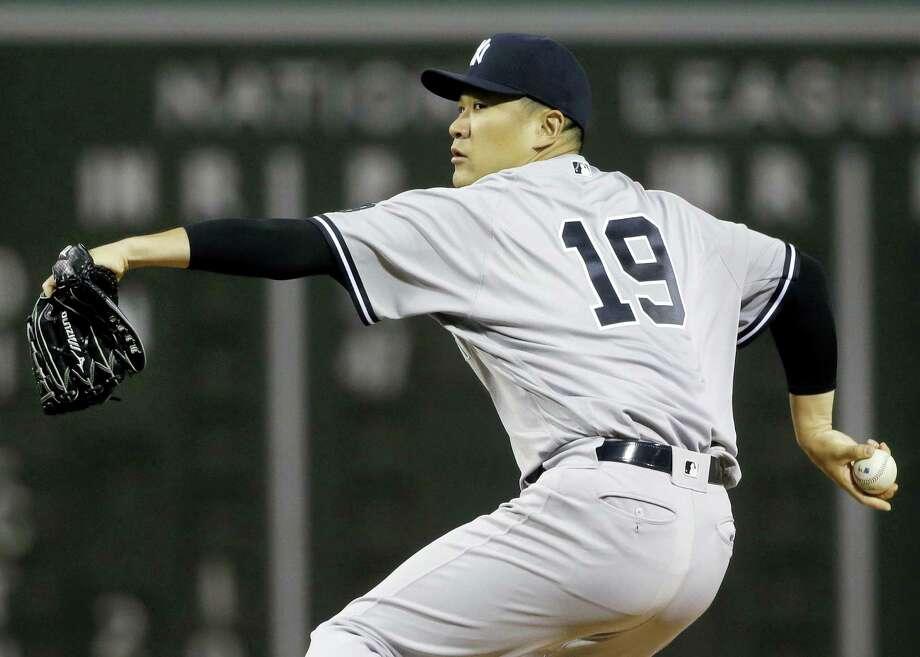 Yankees starting pitcher Masahiro Tanaka. Photo: The Associated Press File Photo  / AP