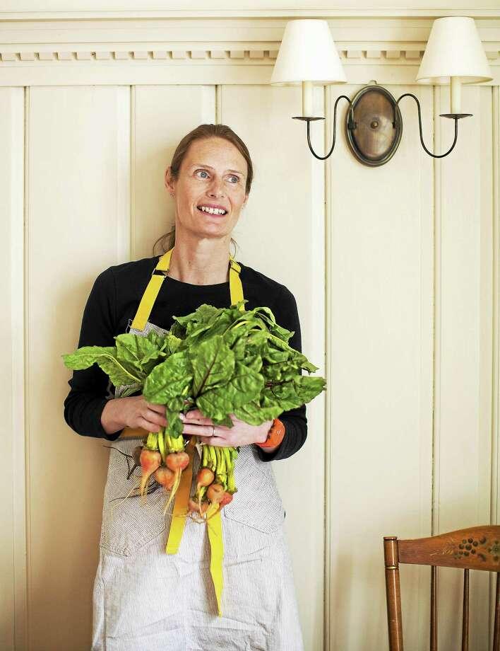 Chef Annie Wayte at The White Hart. Photo: Photo By Julie Bidwell  / Julie Bidwell