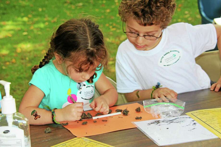Contributed photo Children participate in a craft activity at Sunny Valley Farm in New Milford. Photo: Journal Register Co.