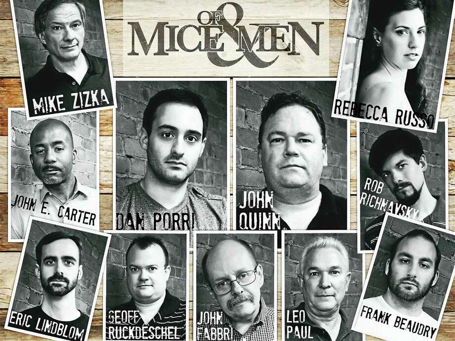 """Contributed photo The Goshen Players presents a staged reading of """"Of Mice & Men"""" Sept. 18-19. Photo: Journal Register Co."""