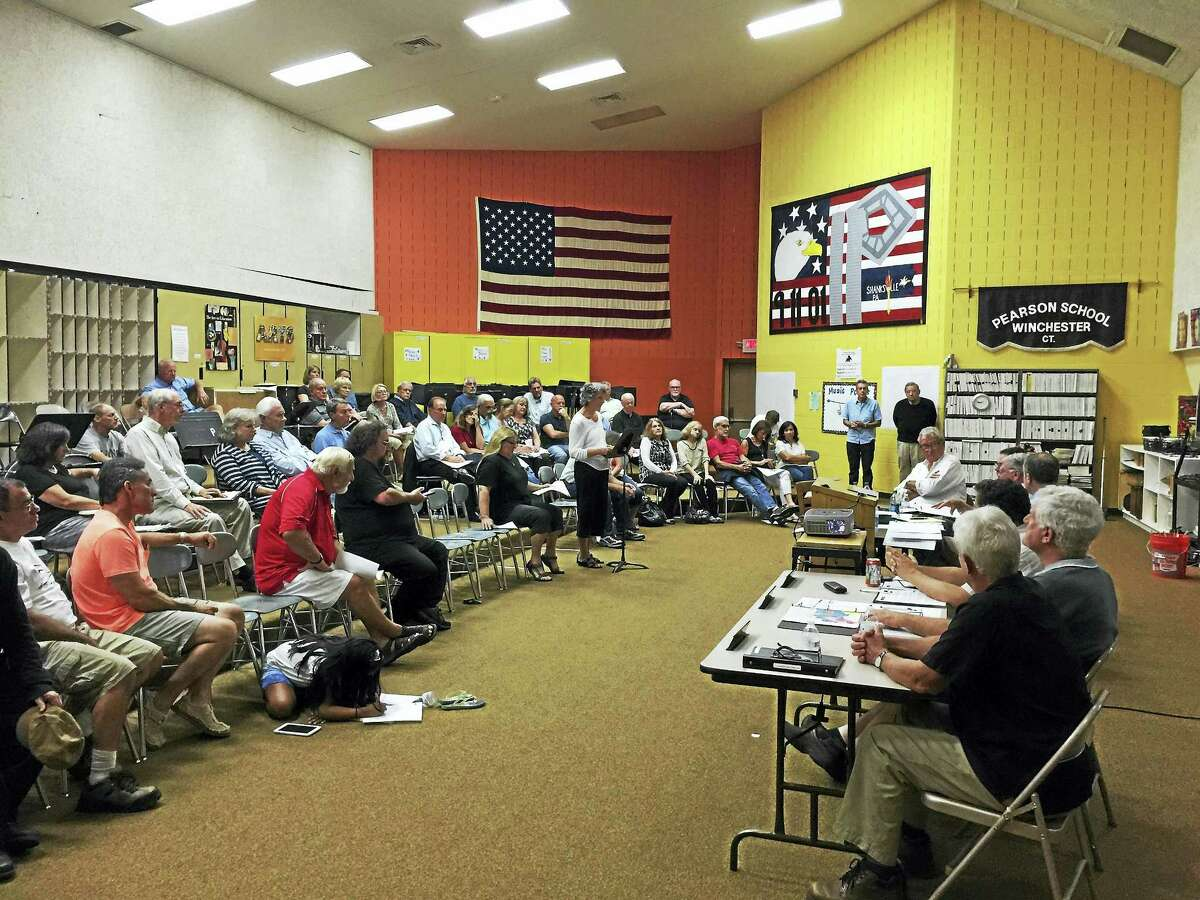 Ben Lambert - The Register CitizenResidents came out to hear and discuss the proposed new zoning regulations for Winsted Tuesday evening.