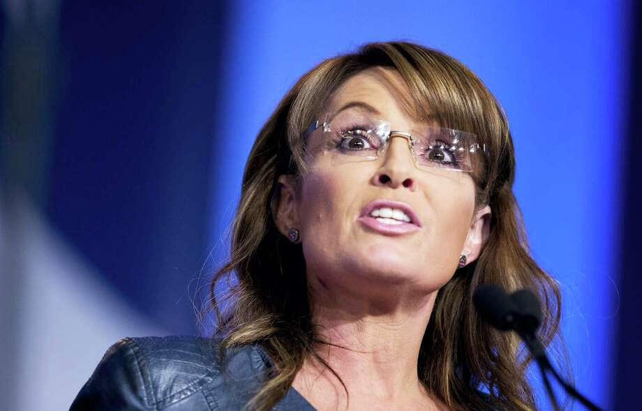 FILE - In this Sept. 26, 2014 file photo, former Alaska Gov. Sarah Palin and vice presidential candidate speaks in Washington. Republican presidential front-runner Donald Trump received a key endorsement from conservative heavyweight Sarah Palin, Tuesday, Jan. 19, 2016. Photo: AP Photo/Manuel Balce Ceneta, File / AP