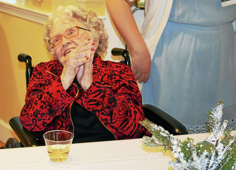 Residents at Brandywine Senior Living at Litchfield hosted an annual Snowball event at the community on Sunday to bring about cheer during the winter. Photo: Contributed Photo