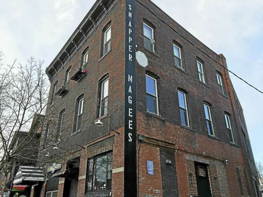 BEN LAMBERT — THE REGISTER CITIZEN The building that housed Snapper Magee's at 178 Water St. in Torrington. Photo: Journal Register Co.