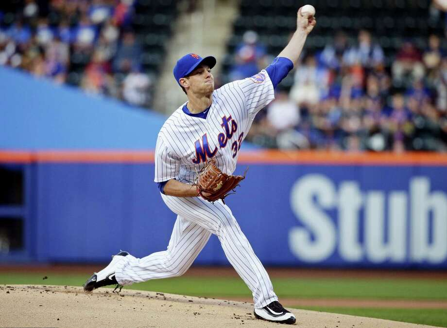 Steven Matz delivers a pitch during the first inning against the Brewers on Friday. Photo: Frank Franklin II — The Associated Press  / Copyright 2016 The Associated Press. All rights reserved. This material may not be published, broadcast, rewritten or redistribu