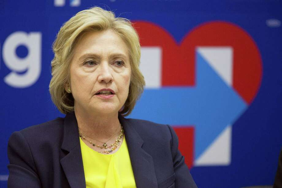 Democratic presidential candidate Hillary Clinton speaks in New York. Photo: THE ASSOCIATED PRESS  / Copyright 2016 The Associated Press. All rights reserved. This material may not be published, broadcast, rewritten or redistribu
