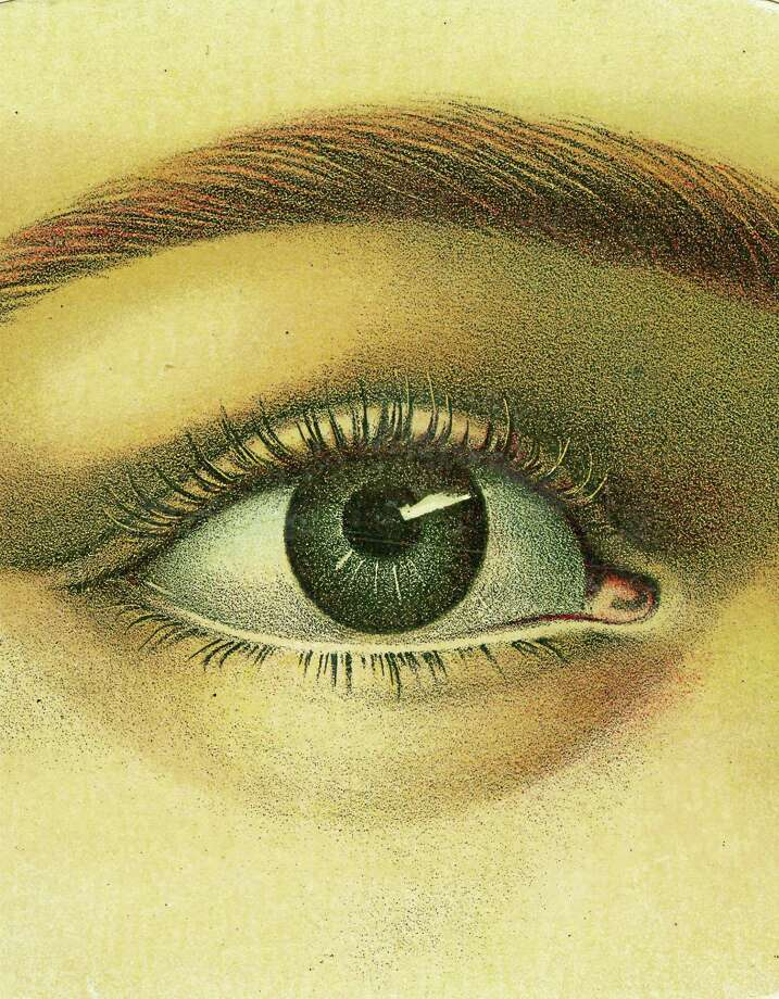 """Photo courtesy of Artisan BooksThe cover of the newly published """"John Derian Picture Book,"""" with its mysterious eye image. Photo: Journal Register Co."""