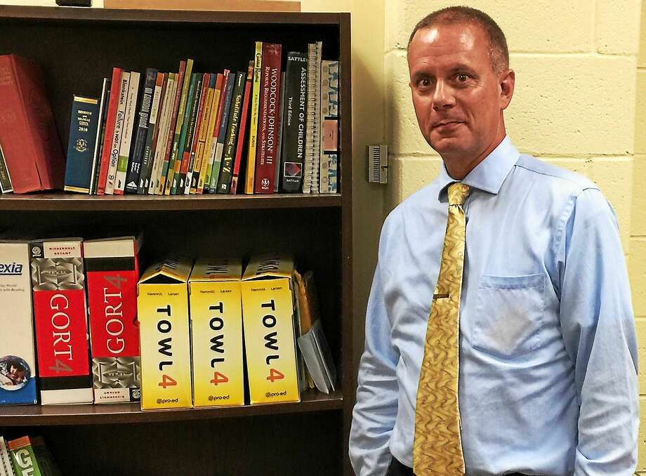 Robert Travaglini, the receiver currently tasked with running the Winchester public schools. Photo: Ben Lambert — The Register Citizen