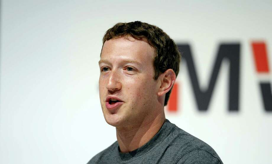 """In this March 2, 2015 photo, Facebook CEO Mark Zuckerberg speaks during a conference at the Mobile World Congress, the world's largest mobile phone trade show in Barcelona, Spain. Zuckerberg is meeting with conservative leaders such as radio host Glenn Beck on Wednesday, May 18, 2016, to discuss claims that its """"trending topics"""" feature is biased against their viewpoints. Photo: AP Photo/Manu Fernandez, File  / Copyright 2016 The Associated Press. All rights reserved. This material may not be published, broadcast, rewritten or redistribu"""