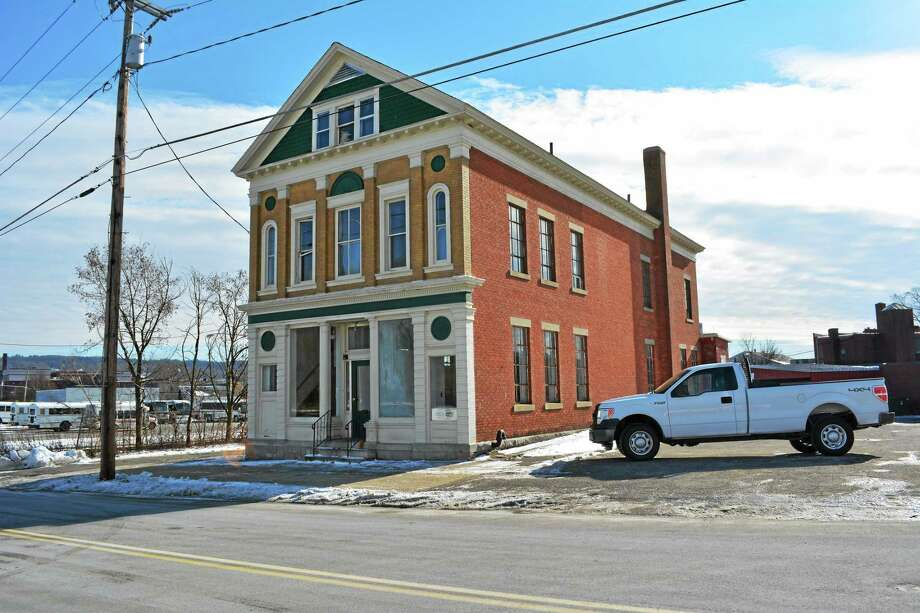 The Batters building, at 187 Church St., is under renovations by Torrington Energy oil company. Photo: Amanda Webster — The Register Citizen