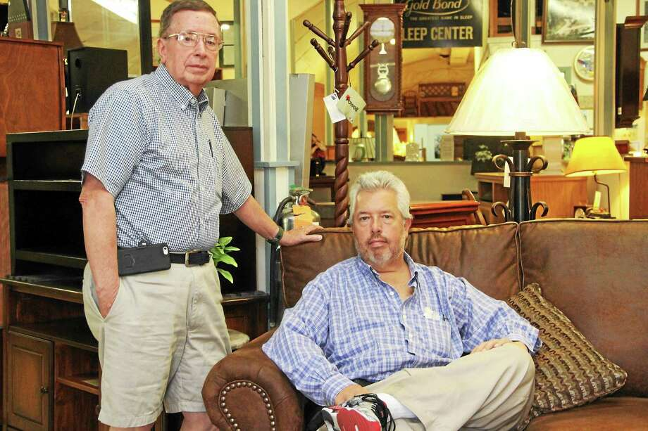 Jack and Mike Wallace. Photo: Register Citizen File Photo