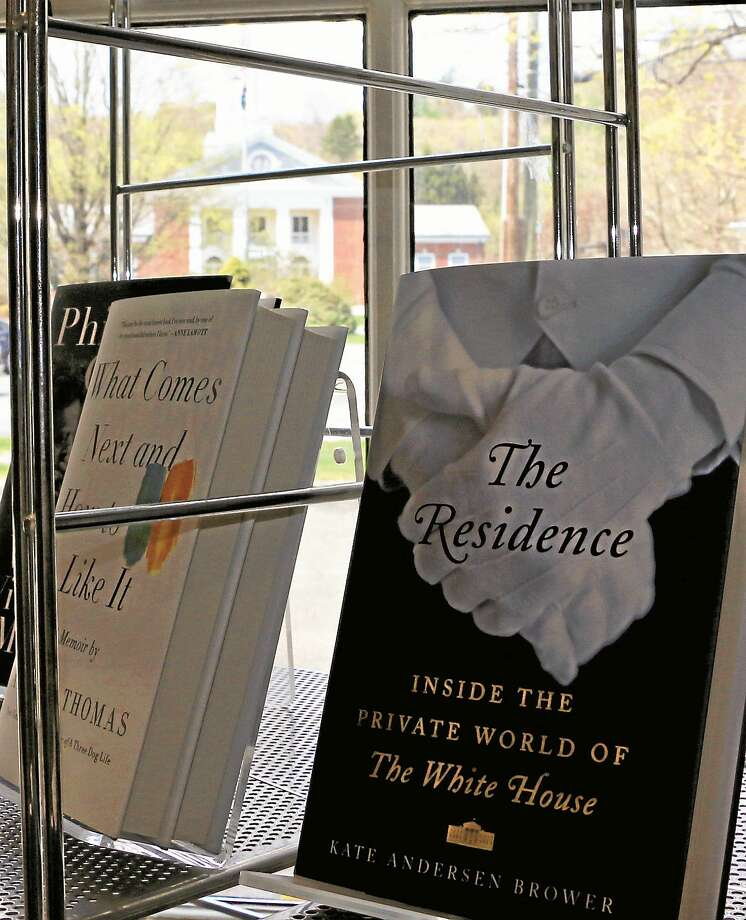 """The Residence"" on display at The Hickory Stick Bookshop in Washington, Conn. Photo: Photo By John Fitts"