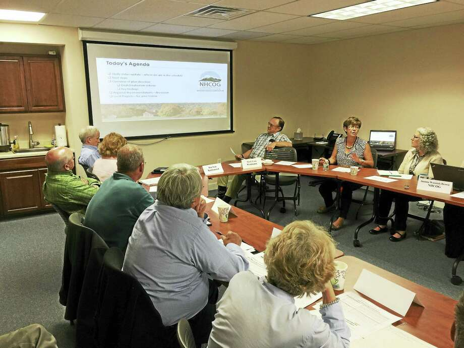 The Northwest Hills Council of Governments took in a presentation on the regional transportation plan currently being formulated last week. Photo: BEN LAMBERT — The Register Citizen