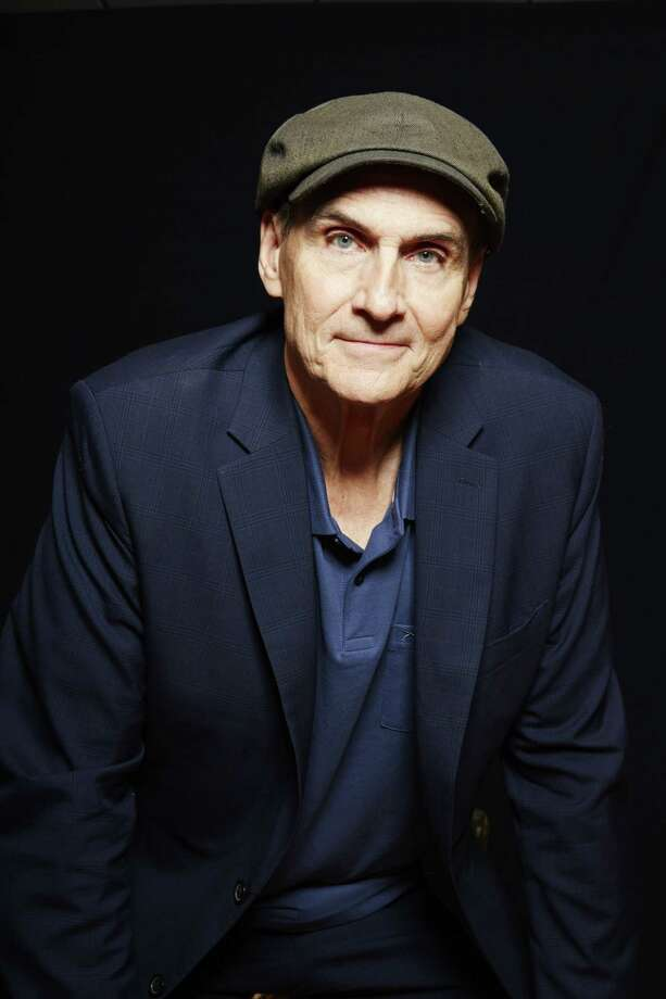 """Grammy Award winning singer-songwriter James Taylor poses for a portrait in New York on May 13, 2015. Taylor is releasing a new album """"Before This World"""" featuring a tribute to the Boston Red Sox called """"Angels at Fenway."""" Photo: Photo By Dan Hallman/Invision/AP  / Invision"""
