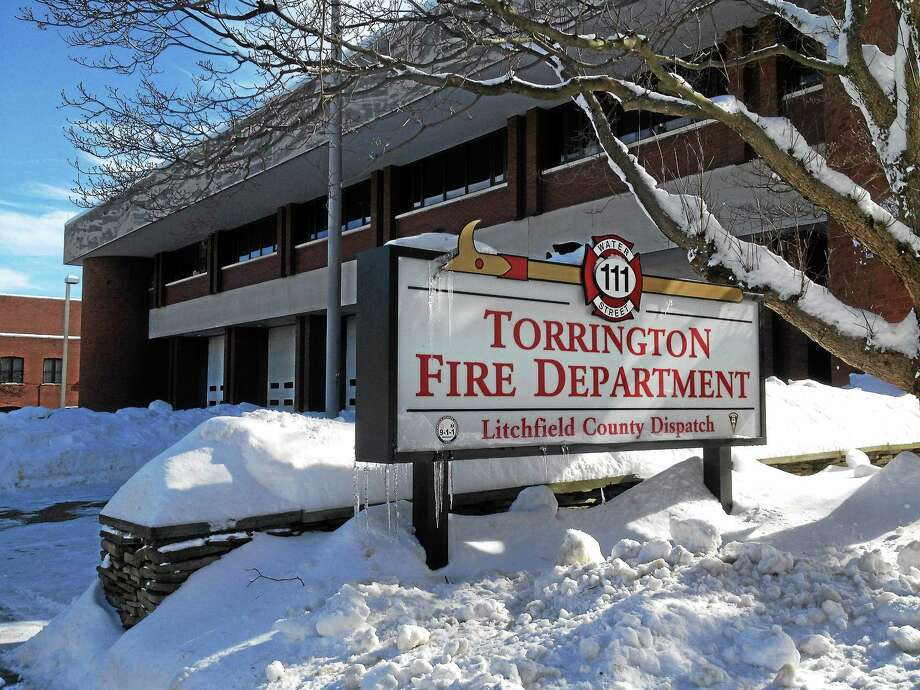 The Torrington Fire Department headquarters on Water Street. Photo: Register Citizen File Photo