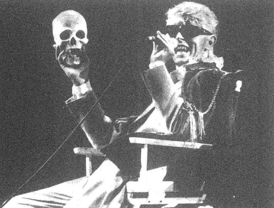 David Bowie in concert at the Hartford Civic Center, July 15, 1983. Photo: Paula Bronstein — New Haven Register FILE PHOTO  / ?2016 Peter Hvizdak