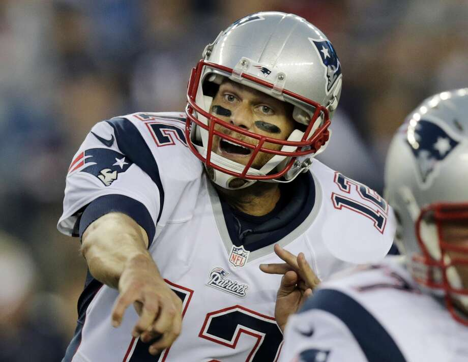 No Tom Brady-Peyton Manning rematch this time. Instead, it will be Brady and Andrew Luck meeting again in a matchup of star quarterbacks when the New England Patriots host the Indianapolis Colts in the AFC championship game Sunday. Photo: Charles Krupa — The Associated Press File Photo  / AP