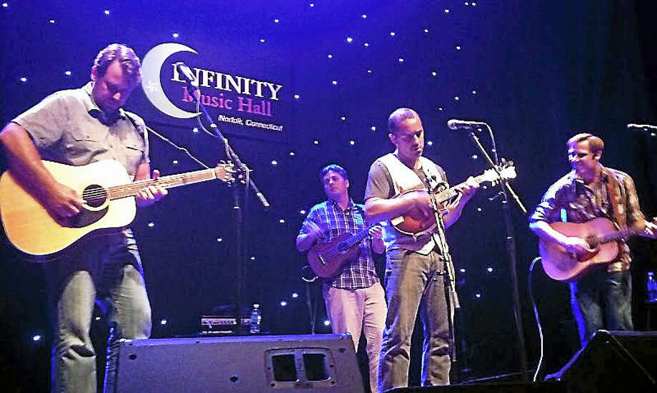 Contributed photoSwitch Factory, shown performing during a previous show at Infinity Hall in Norfolk, returns to the venue Jan. 21 to open for The Steel Wheels. Photo: Journal Register Co.
