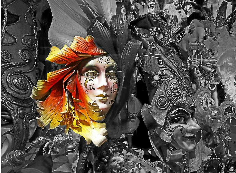 "Image courtesy of the artist.  ""Carnevale"" by Carlton Taylor. Photo: Journal Register Co."