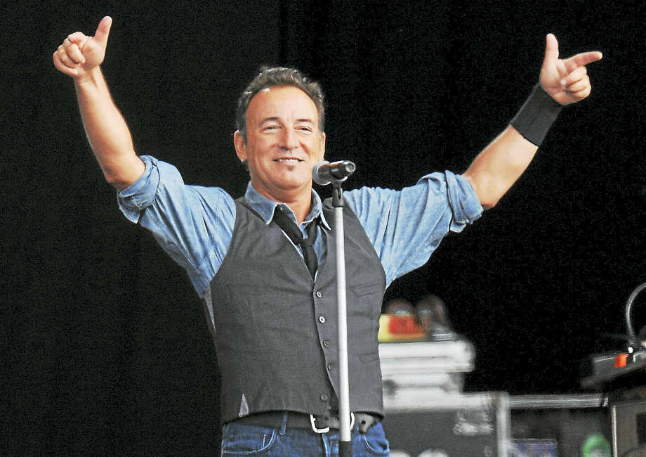 Contributed photoBruce Springteen will perform at the XL Center in Hartford on February 10th. To purchase tickets or for more information on this upcoming concert, call 860-249-6333 or visit www.xlcenter.com. Photo: Getty Images / 2012 Getty Images