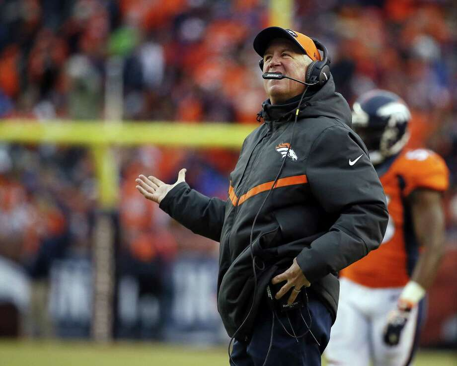 Coach John Fox and the Denver Broncos have parted ways. Photo: The Associated Press  / FR42408 AP