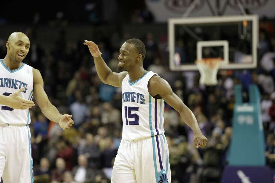 The Hornets have won five straight games behind Walker, who is averaging 30.2 points, six rebounds and 4.5 assists per game during the most productive stretch of his career. Photo: Bob Leverone — The Associated Press  / FR170480 AP