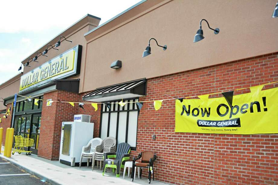 A new Dollar General store opened last Saturday on Winsted Road in Torrington. Photo: Amanda Webster — The Register Citizen