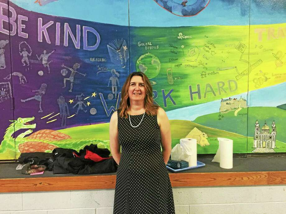 Nancy Taylor, the newly-hired director of pupil services and special education for the Winchester school district. Photo: BEN LAMBERT — The Register Citizen
