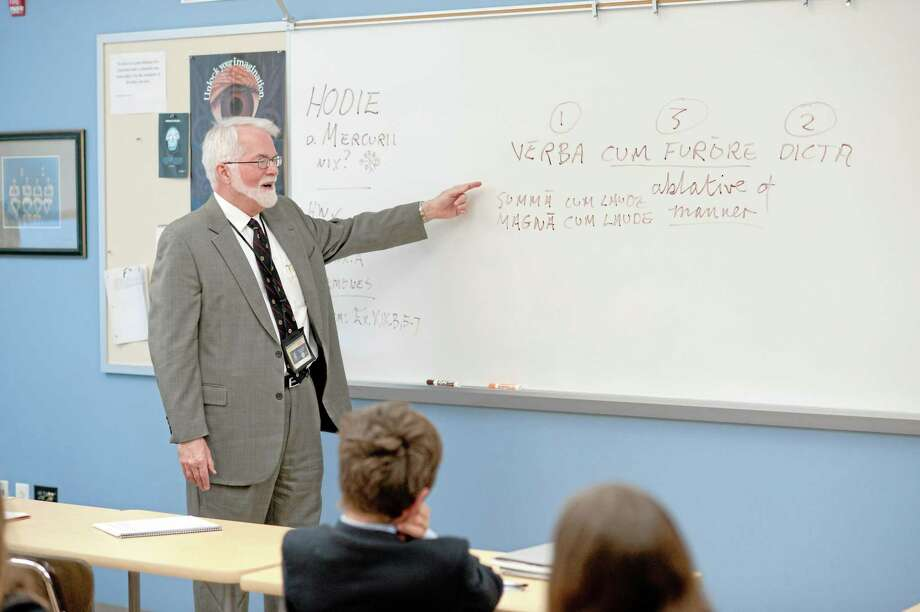 Dr. Lee Pearcy, a teacher at the Episcopal Academy in Newtown Square, is seen in this undated file photo. Photo: Digital First Media File Photo  / copyright 2010 www.michaelleslie.com