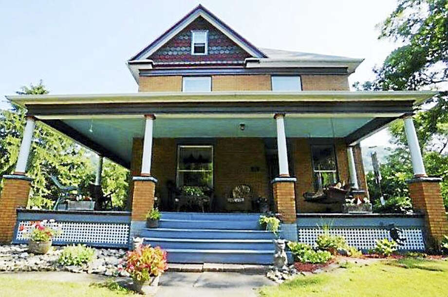"""Screenshot via triblive.com: This home near Perryopolis appeared in """"The Silence of the Lambs"""" is up for sale. In the film, the three-story Victorian was the home of a serial killer nicknamed Buffalo Bill. Photo: Journal Register Co."""