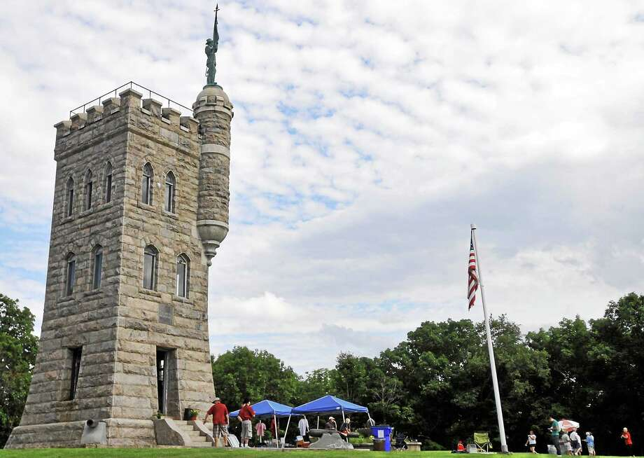 The Winsted Soldiers' Monument, located off Crown Street, is celebrating 125 years this year. Photo: Register Citizen File Photo